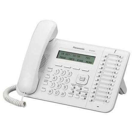 Телефон IP Panasonic KX-NT553RU Белый недорого