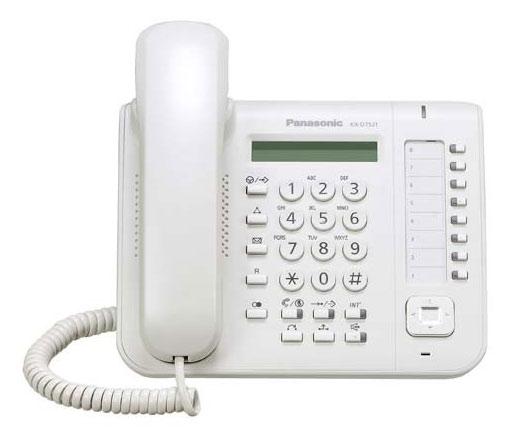 Системный телефон KX-DT521RU Белый фото