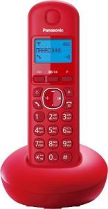 Фото - Радиотелефон Panasonic KX-TGB210 Красный радиотелефон alcatel smile grey