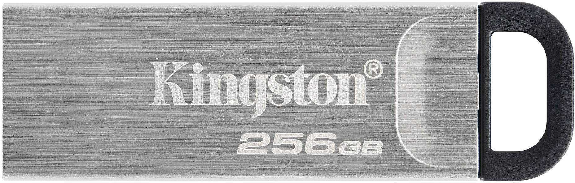 Флешка Kingston Kyson DTKN 256Gb Серебристая
