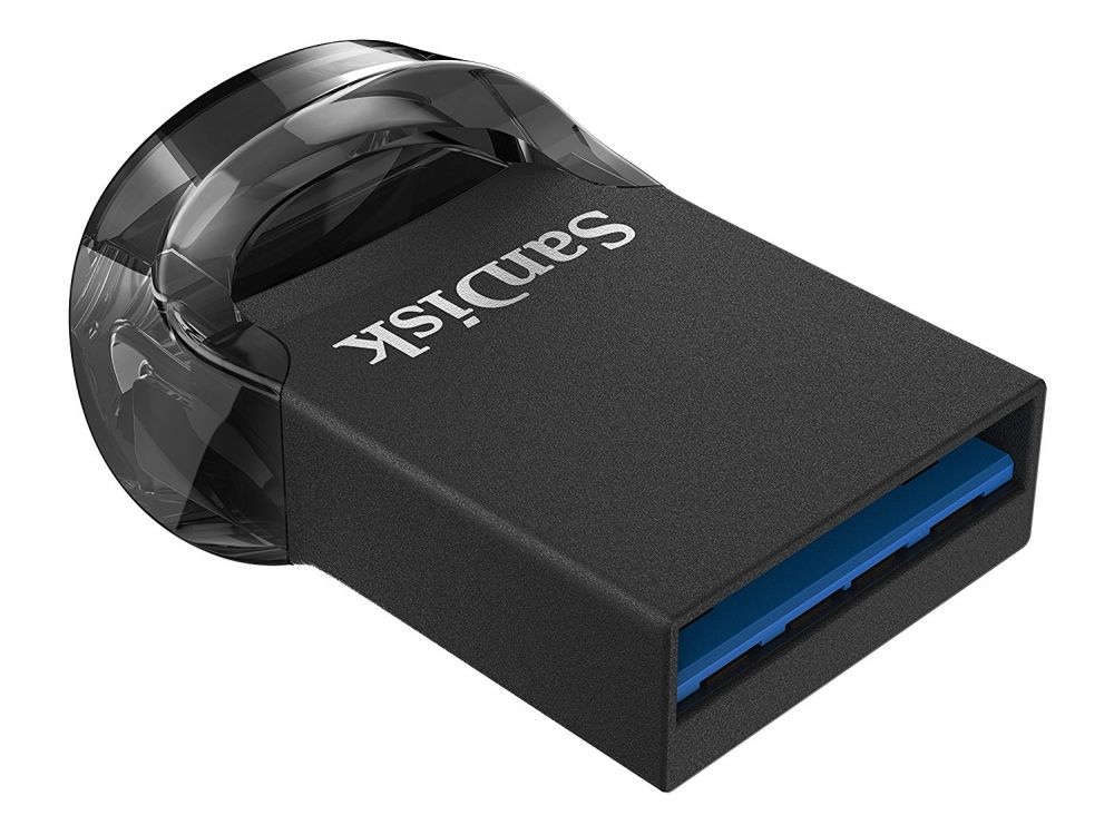 Флешка SanDisk Ultra Fit USB 3.1 SDCZ430-256G-G46 256Gb Черная